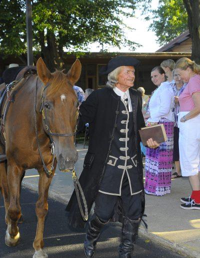 Roger & Horse - Rockford Air Show 200